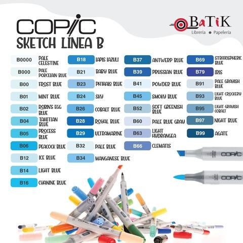 Copic Marcador Sketch  Línea B