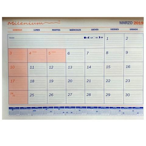 Calendario 2019 23,5x32,5