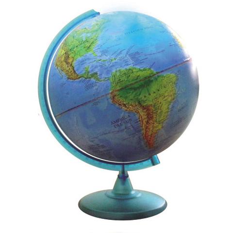 Globo Terraqueo Fisico-Politico 30cm (307W)