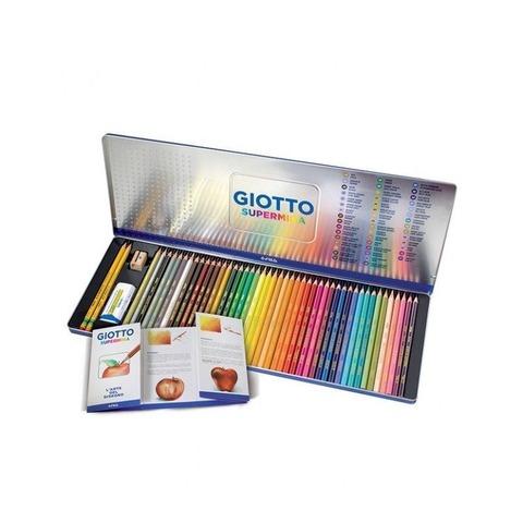 Lapiz Giotto Supermina Lata x50 Elementos