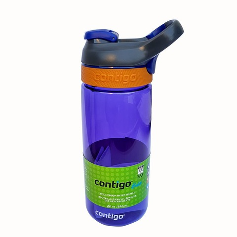 Botella Reutilizable Contigo 590ml Courtney Violeta