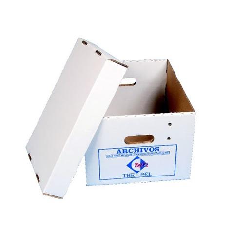 Caja Americana Alta M&D Blanca