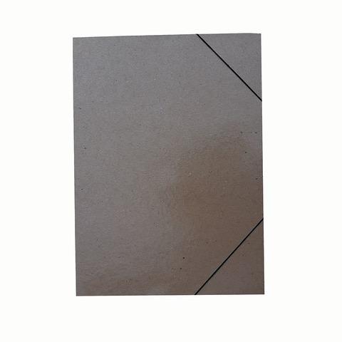 Carpeta 35x50 Cartón Prespan Marrón