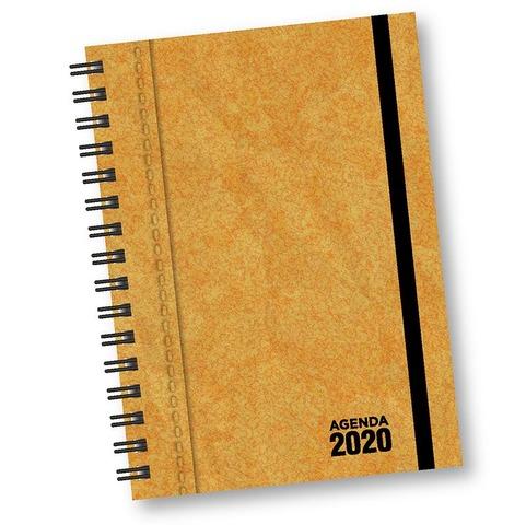Agenda 2020 Onix Nº8 Uomo Kraft Diaria