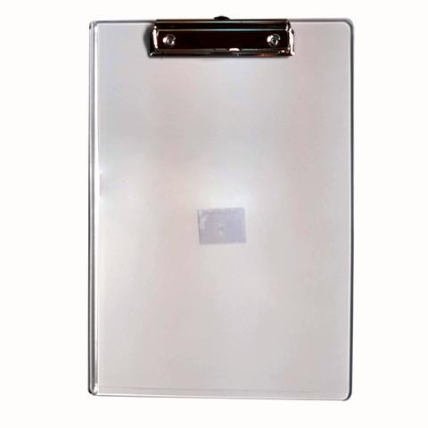 Portablock A4 Plástico Liggo Transparente