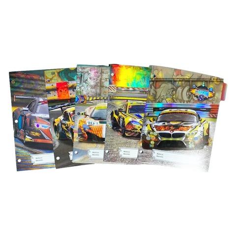 Separadores  N°3 x5 Rexon Oreja Plastificada Motor Racing - Holografico
