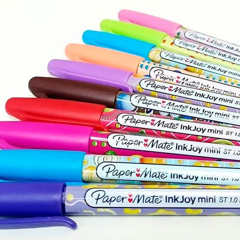 Lapicera Paper Mate KM Candy Pop Mini x10