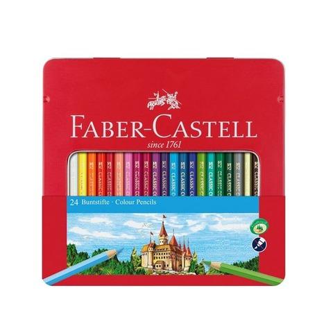 Lápiz Faber-Castell Ecolápiz Lata x24