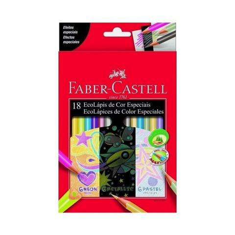 Lápiz Faber-Castell Ecolápiz x18