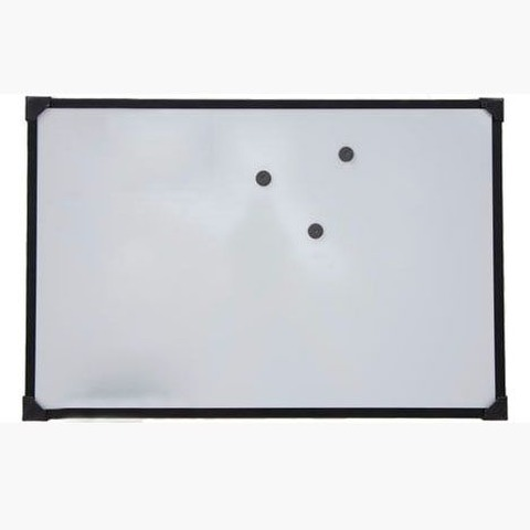 Pizarra Mundo Blanca Magnética 60x80cm