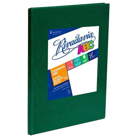 Cuaderno escolar Nº3 Rivadavia 19x23,5 ABC x98 Rayado