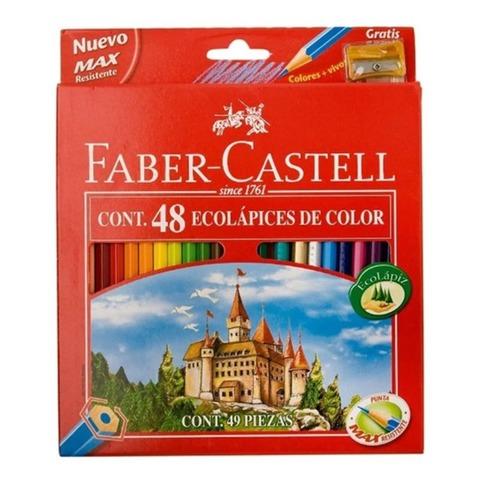 Lápiz Faber-Castell Ecolápiz x48