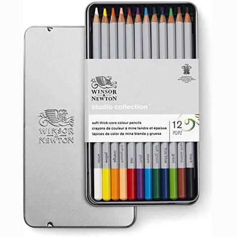 Lápiz Winsor & Newton Lata Color x12