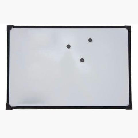 Pizarra Mundo Blanca Magnética 80x120cm