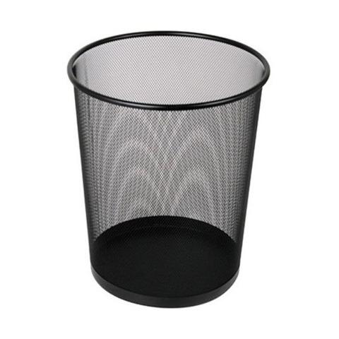 Cesto Papelero Onix Metal 30 cm Negro