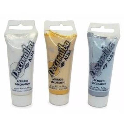 Acrilico Alba Decoralba 40ml Perlados
