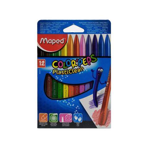 Cera Maped Colorpeps Plastipinturita x12
