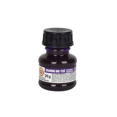 Tinta China Koh-i-noor 20gr Común color Violeta