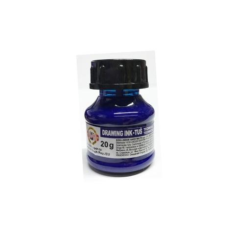 Tinta China Koh-i-noor 20gr Común color Azul