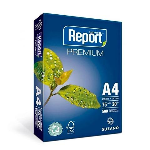 Resma A4 Report 75grs x5