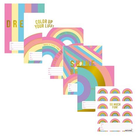 Separadores  N°3 x6 Mooving Golden Rainbow 1101211