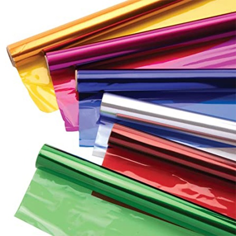 Papel Celofan Color x10
