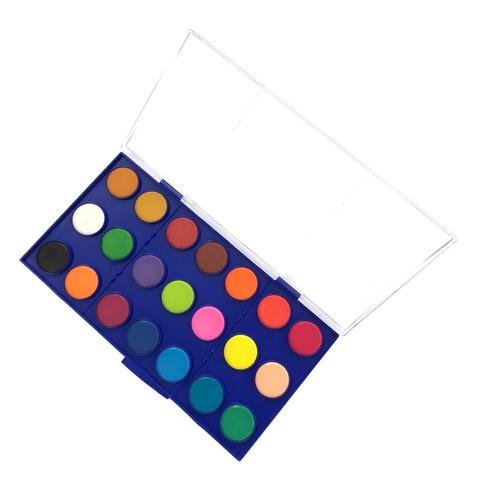 Acuarelas Rebhan x21 colores (Pastillas 28mm.Diam.)