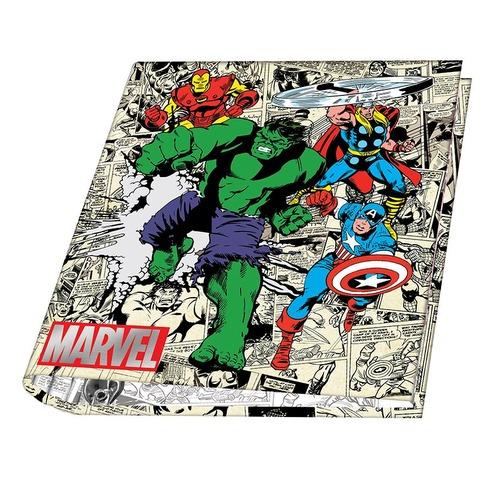 Carpeta Nº3 3x40 Mooving Marvel Hulk