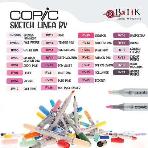 Copic Marcador Sketch  Línea RV