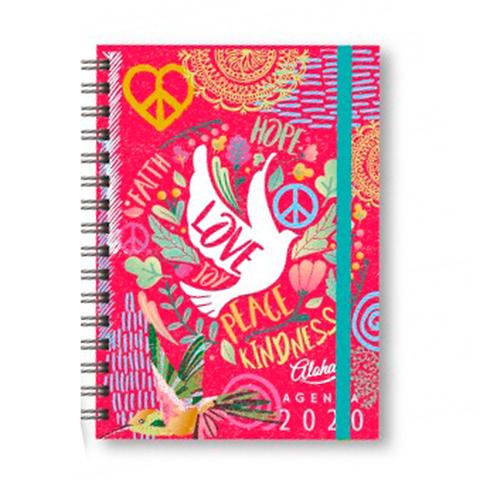 Agenda 2020 Onix Nº8 Hippie Style Diaria