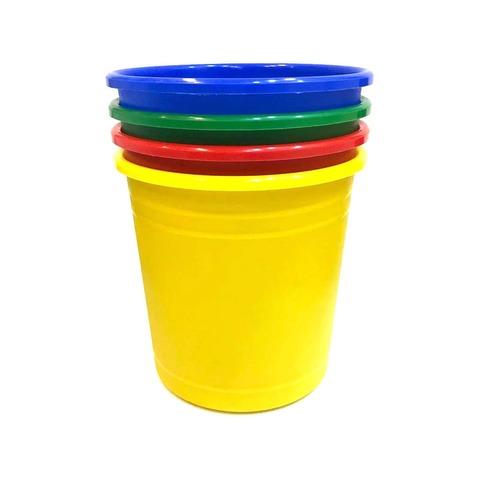 Cesto Papelero Plástico 25 cm Color