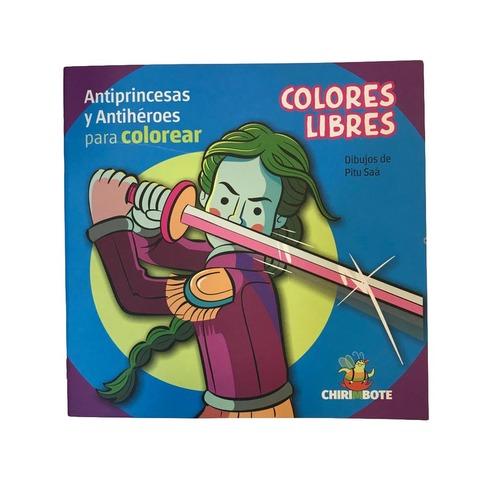 Libro intantil para colorear