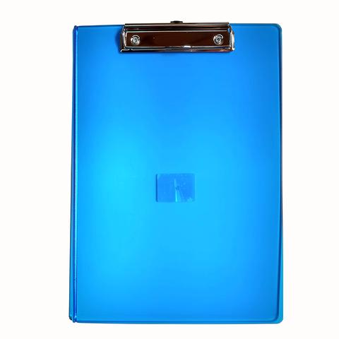 Portablock A4 Plástico Liggo Azul