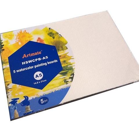 Carton para Acuarelas A5 HSW-CPB-A5