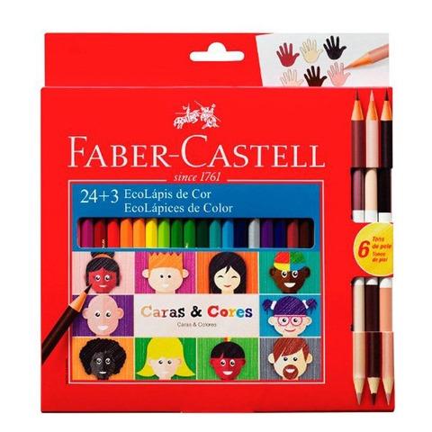 Lápiz Faber-Castell Ecolápiz x24