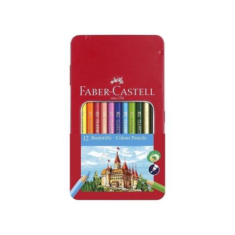 Lápiz Faber-Castell Ecolápiz Lata x12