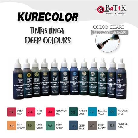 Kurecolor Tinta Línea: Deep Colours (colores profundos)