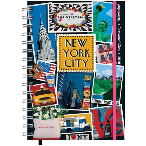 Agenda 2019 Mooving 15x21 Cosmopolitan NY