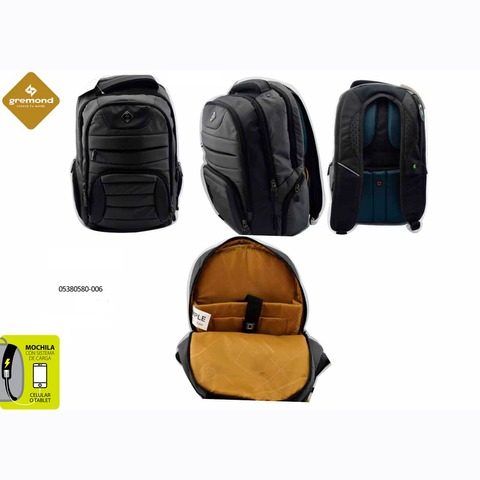 Mochila Gremond Portanotebook 0538-0580-006