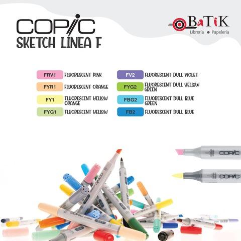 Copic Marcador Sketch  Línea F