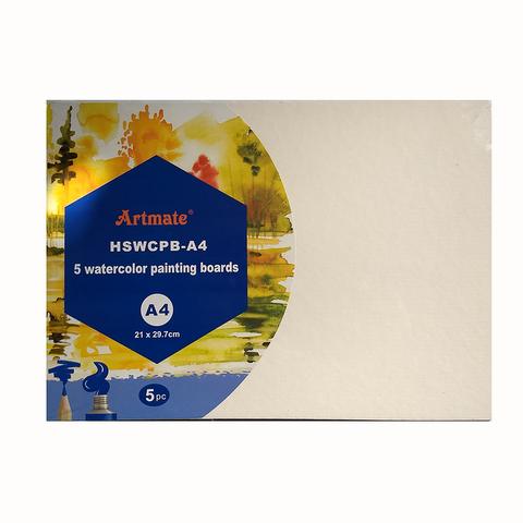 Cartón para Acuarela A4 HSW-CPB-A4