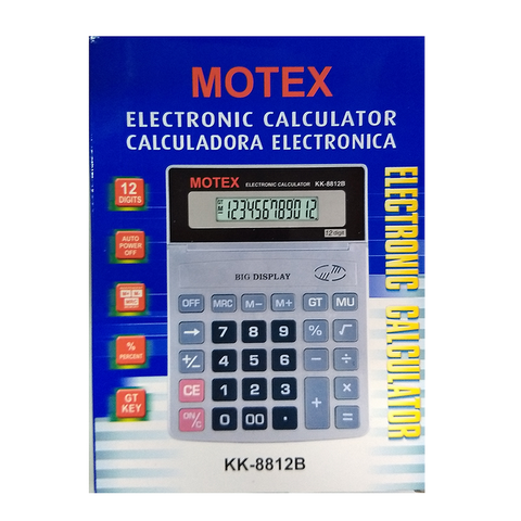 Calculadora Motex KK-8812B