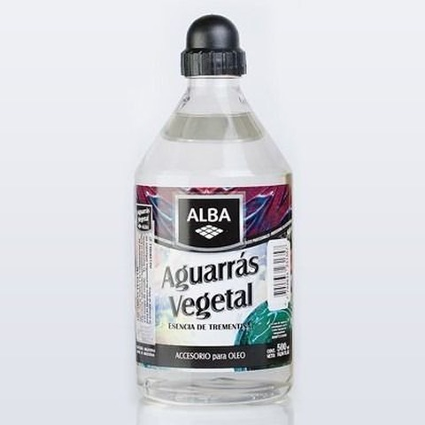 Aguarras Vegetal Alba x500ml