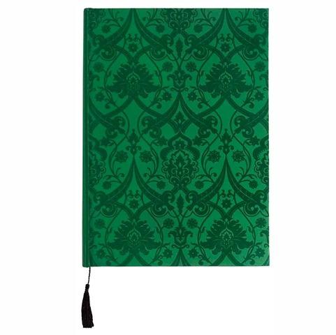Cuaderno de notas Boncahier Velvet verde