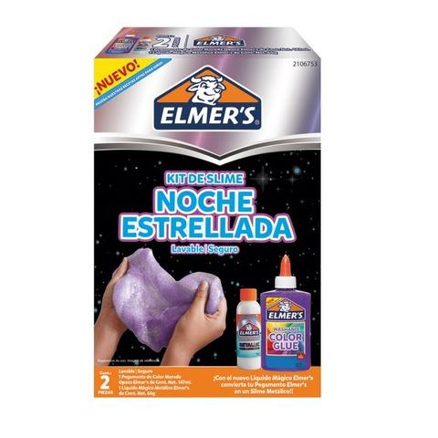 Adh. Glitter Elmers Kit para Slime