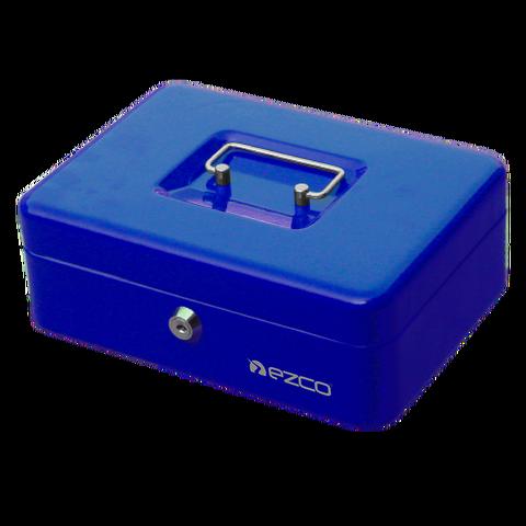 Cofre Portavalores Ezco 8878M Mediano Azul