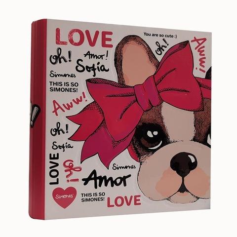 Carpeta Nº3 3x40 Mooving Simones Love Oh!