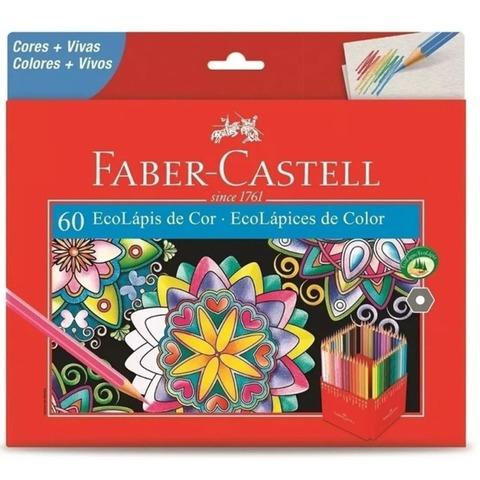 Lápiz Faber-Castell Ecolápiz x60