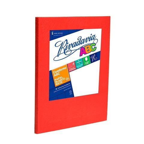Cuaderno escolar Nº3 Rivadavia 19x23,5 ABC x98 Cuadriculado