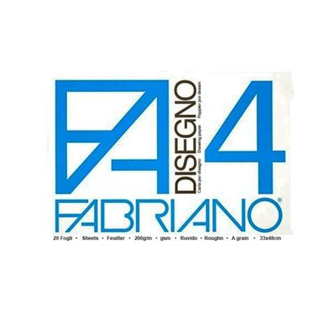 Block Fabriano Disegno 4 200gr 33x48cm (20h) Rugoso